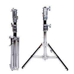 low - foot stand B301 heavy - duty lamp holder film - visual tripod head lowboy stainless steel frame  CD50