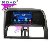 TOPNAVI Android 4,4 6,2 дюймов Автомобильный медиацентр плеер для Volo XC60 2009 2012 gps навигации стерео два Din Авто Аудио Автомобильный Стайлинг