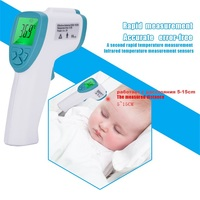 Hot Forehead digital baby thermometer infrared for milk water room medical pacifier fever body thermometer non contact baby care