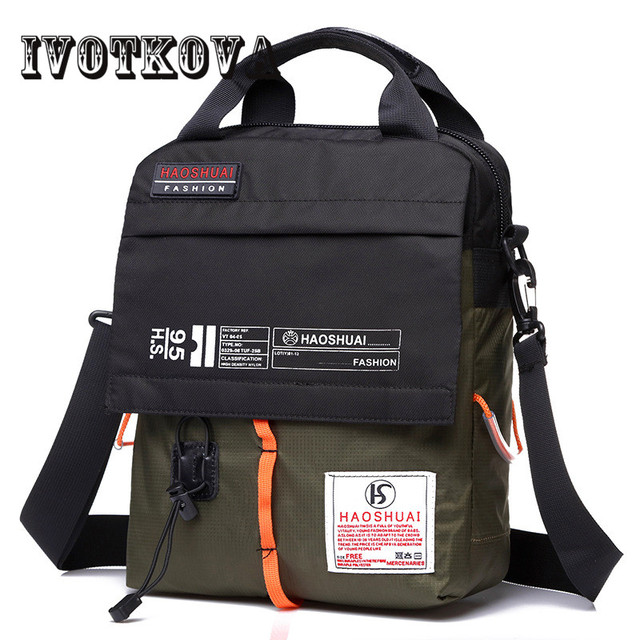 Crossbody bag New Multifunction Men bag Retro handbags Women Nylon Bags Shoulder Messenger Bags 1