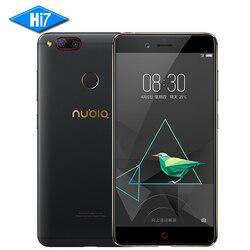 NEW Original ZTE Nubia Z17 mini Mobile Phone 4GB 64GB Snapdragon 653 Dual Rear Camera 13MP 5.2 inch Fingerprint NFC 4G LTE