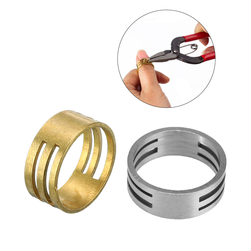 Metal Jump Ring Opener Opening Closing Finger Ring Jewelry Round Circle Bead Plier DIY Jewelry Finding Making Tools