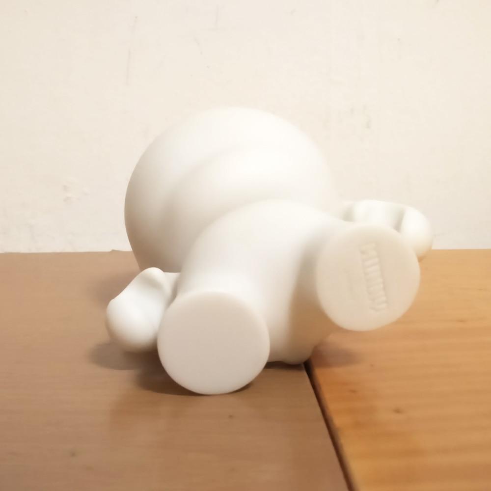 5 հատ 4 դյույմ Kidrobot munny սպիտակ սև DIY - Խաղային արձանիկներ - Լուսանկար 6