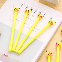 12PCS Cute Pikachu  Gel Pen Kids happy birthday party supply gift for girl boy party favors souvenirs baby shower decoration