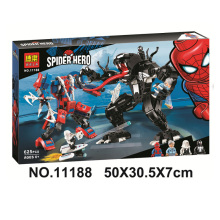 цена Bela 11188 Spider Man Spider Mech Vs. Venom Building Blocks Toys Bricks Gift Compatible With Legoings Super Hero 76115 онлайн в 2017 году