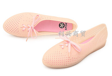 Summer comfort flats jelly shoes sweet