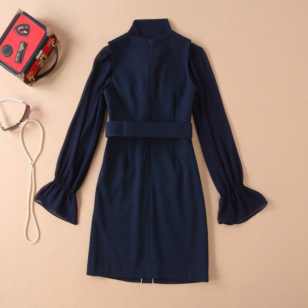 Luxe Marque Design Style Piste Célèbre 2019 De Européenne Vêtements Ws0329 Mode Partie Femmes Jupes fxZw4HZSq