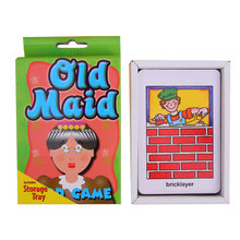 Kids children Crazy Game Card Poker Hearts Fish Old Maid kid Child Baby Educational Toys