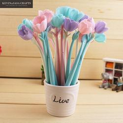 Gel pen flower 12pcs pen stationary kawaii school supplies gel ink pen school stationary office suppliers.jpg 250x250