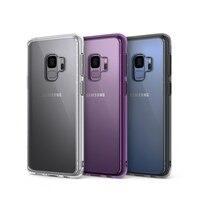 Ringke Fusion Cas pour Samsung Galaxy S9 Crystal Clear PC Retour + TPU Bumper Dual Protection Téléphone Cas
