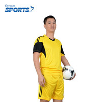 Soccer Jersey Customized Short Sleeve Sets Youth Kids Football Kits Men Training Suit Blank Breathable New