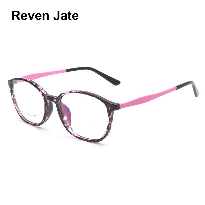 Reven Jate S1020 Acetate Full Rim Flexible High Quality Eyeglasses Frame For Men And Women Optical Eyewear Frame Spectacles
