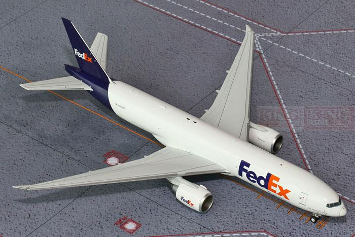 GeminiJets the United G2FDX504 States Federal Express N883FD 1:200 B777-200F commercial jetliners plane model hobby