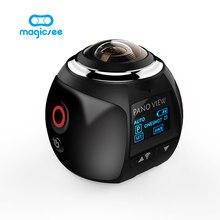 V1 камеры 360 действие Камера Wi-Fi мини-панорамная Камера 2448*2448 Ultra HD панорама Камера 360 градусов Спорт для вождения vr Камера