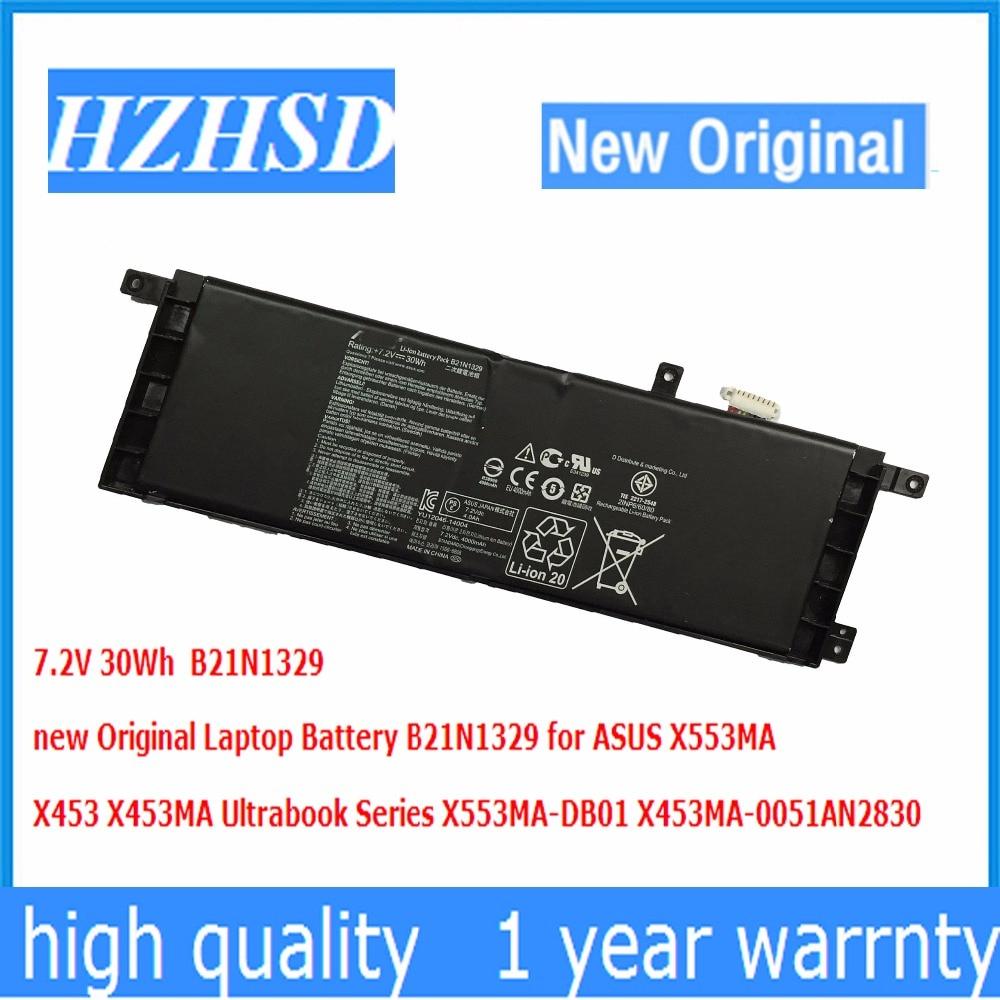 7.2V 30Wh new Original Laptop Battery B21N1329 for ASUS X553MA X453 X453MA Ultrabook Series X553MA-DB01 X453MA-0051AN2830