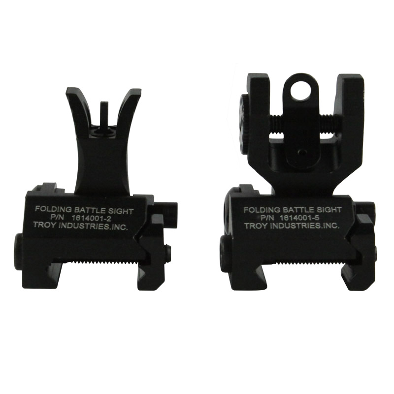 Troy Metal M4 Style Front & Rear Folding Battle Sight