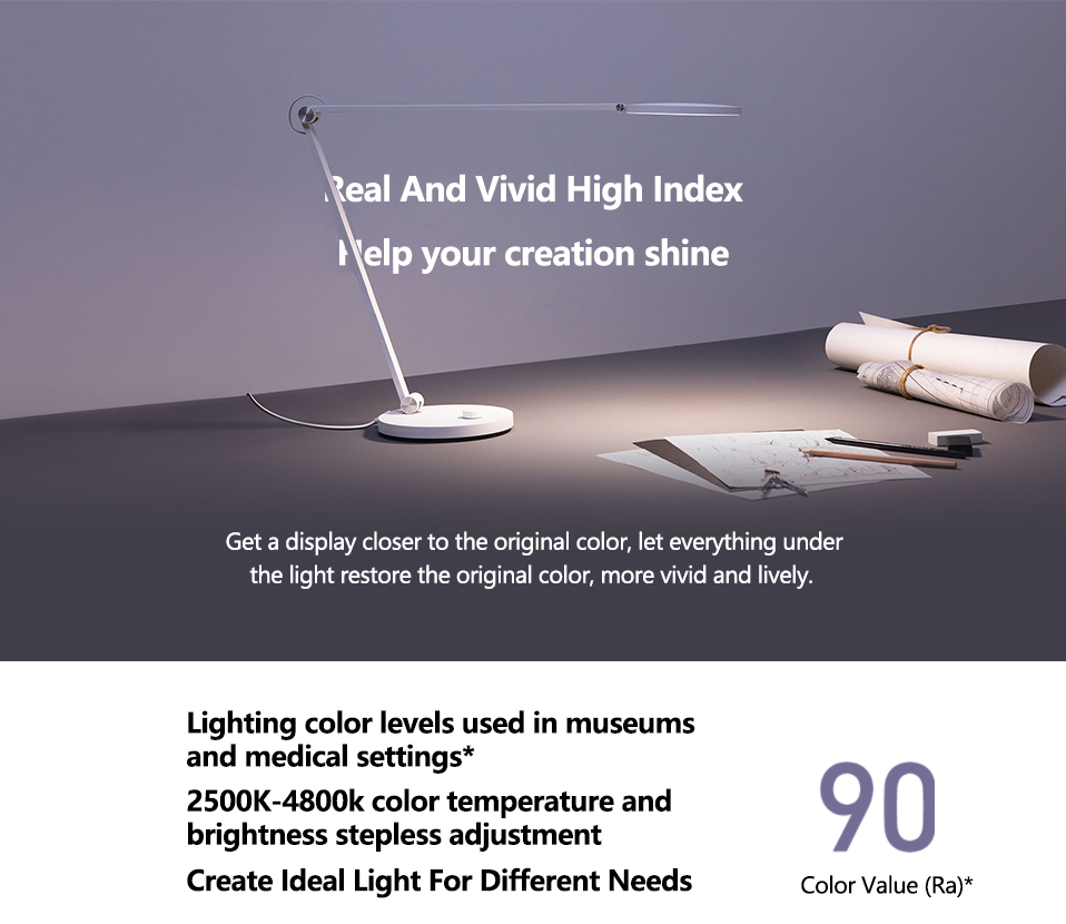 Xiaomi Mijia LED Desk Lamp Pro Smart Eye Protection Table Lamps Dimming Reading Light Work with Apple HomeKit Reading Light (12)