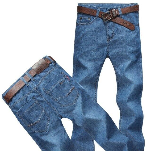 Размера плюс 8xl 4xl 6xl 48 50 52 мужские брюки в стиле хип-хоп хлопковые топы черные синие длинные брюки мужские брендовые длинные джинсы - Цвет: model 2
