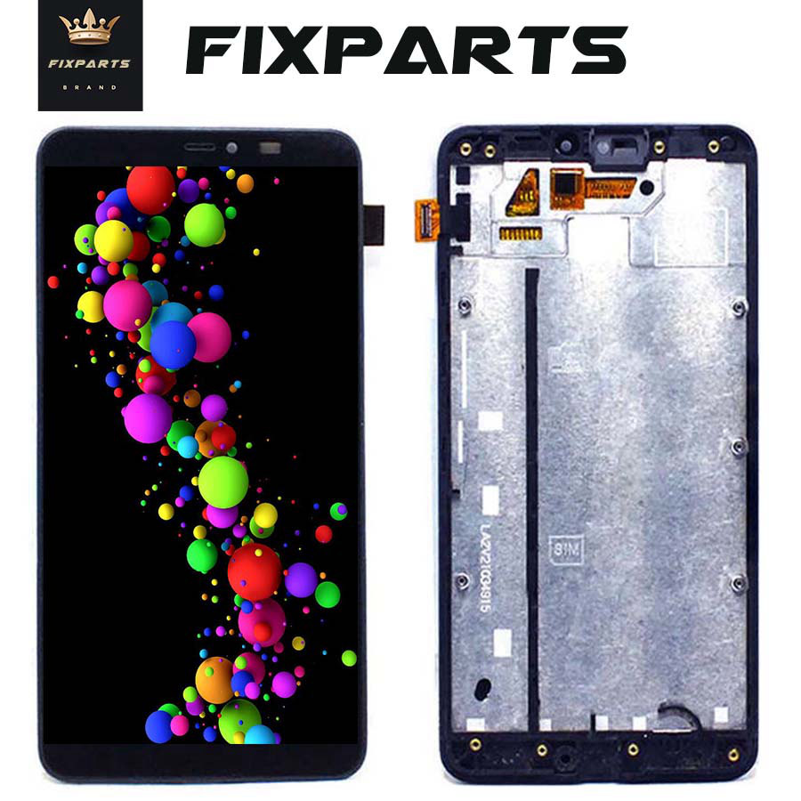 100% Tested For Microsoft Nokia Lumia 640xl 640 Xl Lcd Display + Touch Screen Digitizer Assembly Black + Tools Free Shipping 640 Sturdy Construction