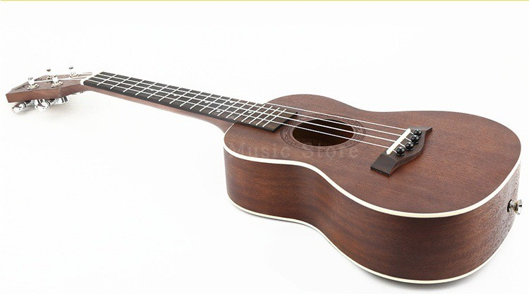 Ukulele Concert Acoustic Mahogany 23inch Panel Children Gift Kid's Present Acoustic Ukulele Rosewood 18 Fret 4 Strings niko black 21 23 26 ukulele bag silver edge nylon soprano concert tenor soft case gig bag 5mm thick sponge