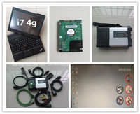 mb sd c5 star diagnosis with laptop x201t i7 4g touch screen 320gb hdd newest software full cables ready to use 12v 24v