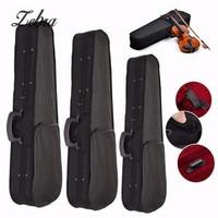 Zebra 1 4 3 4 4 4 Portable Violin Case Violin Bag Cover With Red Velvet