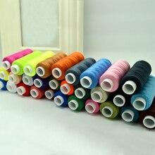 30 piezas coloridas 200 yardas de alta calidad máquina de bordado de hilo de coser DIY Kit de hilo de coser