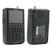 "Satlink WS-6908 3.5 ""LCD DVB-S Diseqc Ver1.0/1.2 FTA Données Satellite Finder Compteur"
