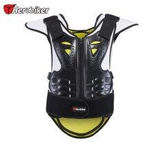 2016 HEROBIKER Дети Дети Мотоциклов Body Armor Vest Против Морщин Мотокросс Мужская Мотоциклов Защитное Снаряжение Жилет