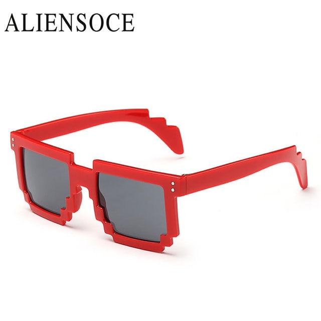 4cd977a89a ALINESOCE Steam Punk Sunglasses Men Women Irregular Flat Lens Transparent  Glasses Fashion Goggle Eyewear Cool Oculos De Sol