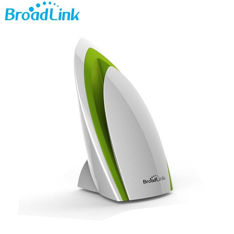 imágenes para Broadlink A1 E Quatily Detector Inteligente de Aire Purificador de aire wifi domótica inteligente teléfono detectar Humedad Temperatura de Ruido