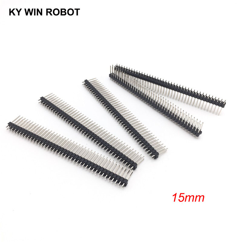 Connectors Back To Search Resultslights & Lighting 10pcs Single Row Male 1*40 40pin 2.54mm 1x40 19mm Height Long Breakable Pin Header