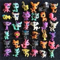 20pcs Set Action Little Pet Shop Anime Figure Animal Cat Dog Kids Toys Dolls Lps Lol