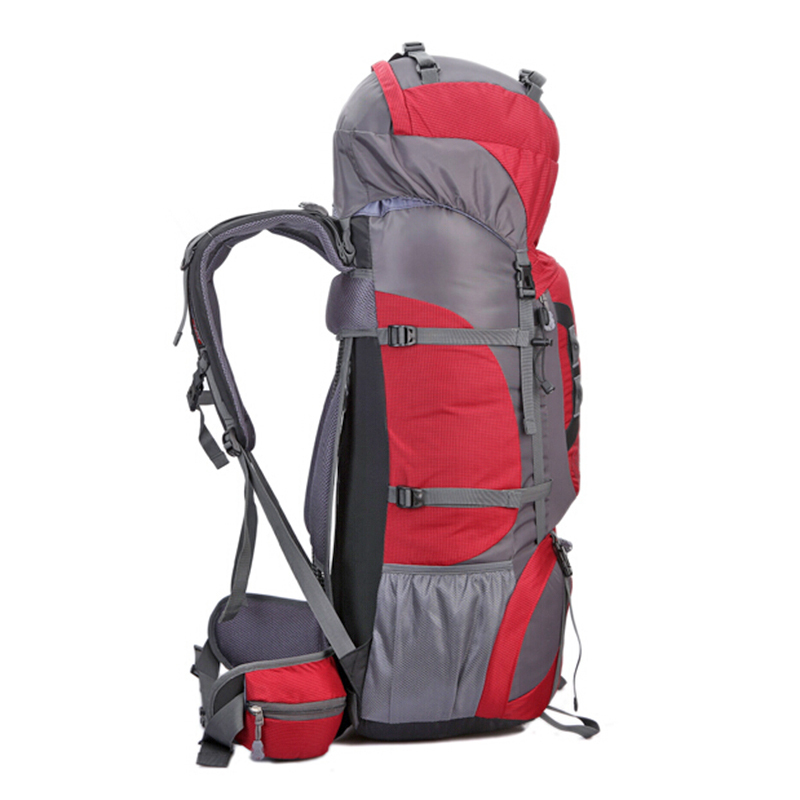 Casual Waterproof Backpack 2017 Men Women Traveling Bags Weekend Rock Climbing Bag High Capacity 80l Suspension Bracket In Travel From Luggage