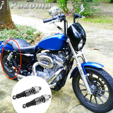Motorcycle Chrome Shock Absorbers Front Rear Lowering Slammer Kit for Harley Sportster XL 883 1200 XLH883 1988-2003
