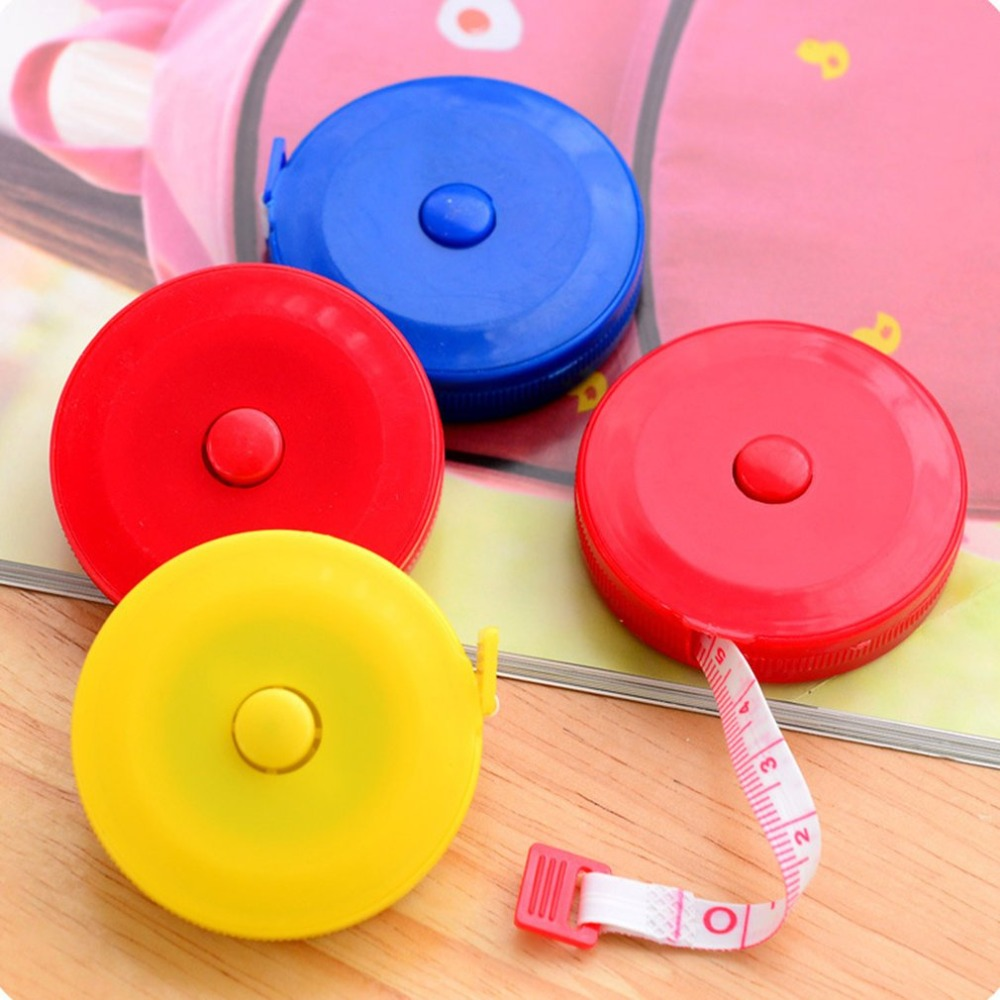 Meter Ruler Automatic Retractable Tape Measure Multi-purpose Plastic Tape Measure Measuring Tape Small Tape dropshipping