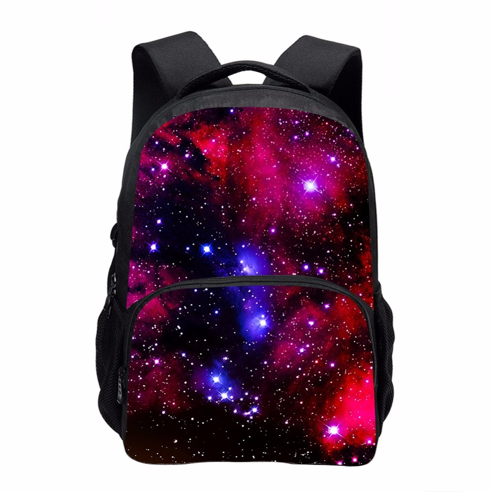 Moda Multicolor Mulheres Mochila de Lona Elegante Galaxy Estrelas Universo  Espaço Mochila Meninas Escola Backbag Mochila f2a9d1c811
