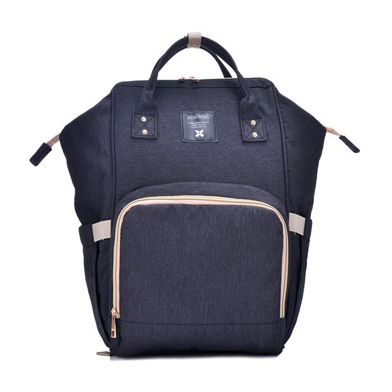 Fashion Mummy Maternity Nappy Bag Brand Large Capacity Baby Bag Travel Backpack Desiger Diaper Bag Nursing Wet Bag for Baby Care