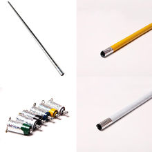 1Pcs Hot Sale Metal Appearing Cane Magic Tricks Close Up Illusion Silk to Wand 7 Colors High Quality