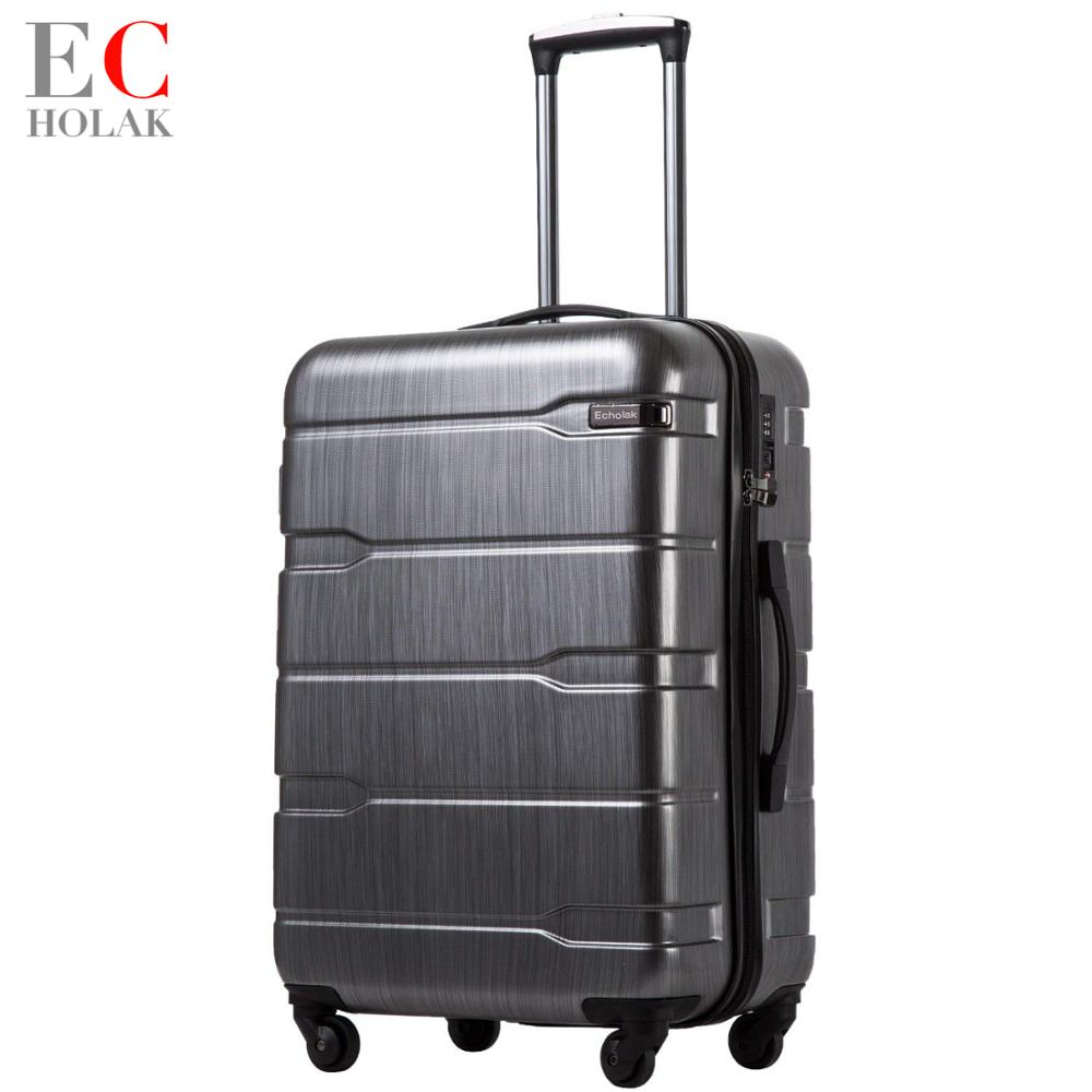 Luggage Expandable Aluminum Framed Xiaomi Suitcase Suitcase PC ABS Spinner Built in TSA Lock 20in 24in