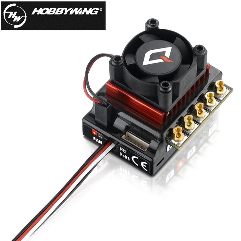 1pcs RC ESC Hobbywing QUICRUN 10BL120 Sensored 120A 2-3S Lipo Speed Controller Brushless ESC for 1/10 1/12 RC Car