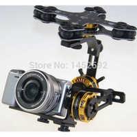 Gimbal Brushless 3 Axis 4108 Motor Evvgc Controller & AlexMos V2.4 8bit 32 bit Controller for Sony NEX ILDC Camera