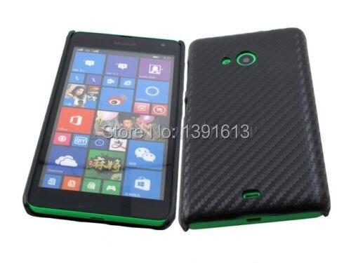 new styles 64d88 3b6ee US $6.36  Hard Back Cover Case for Microsoft Nokia Lumia 535 Dual Sim Black  Carbon Fiber on Aliexpress.com   Alibaba Group