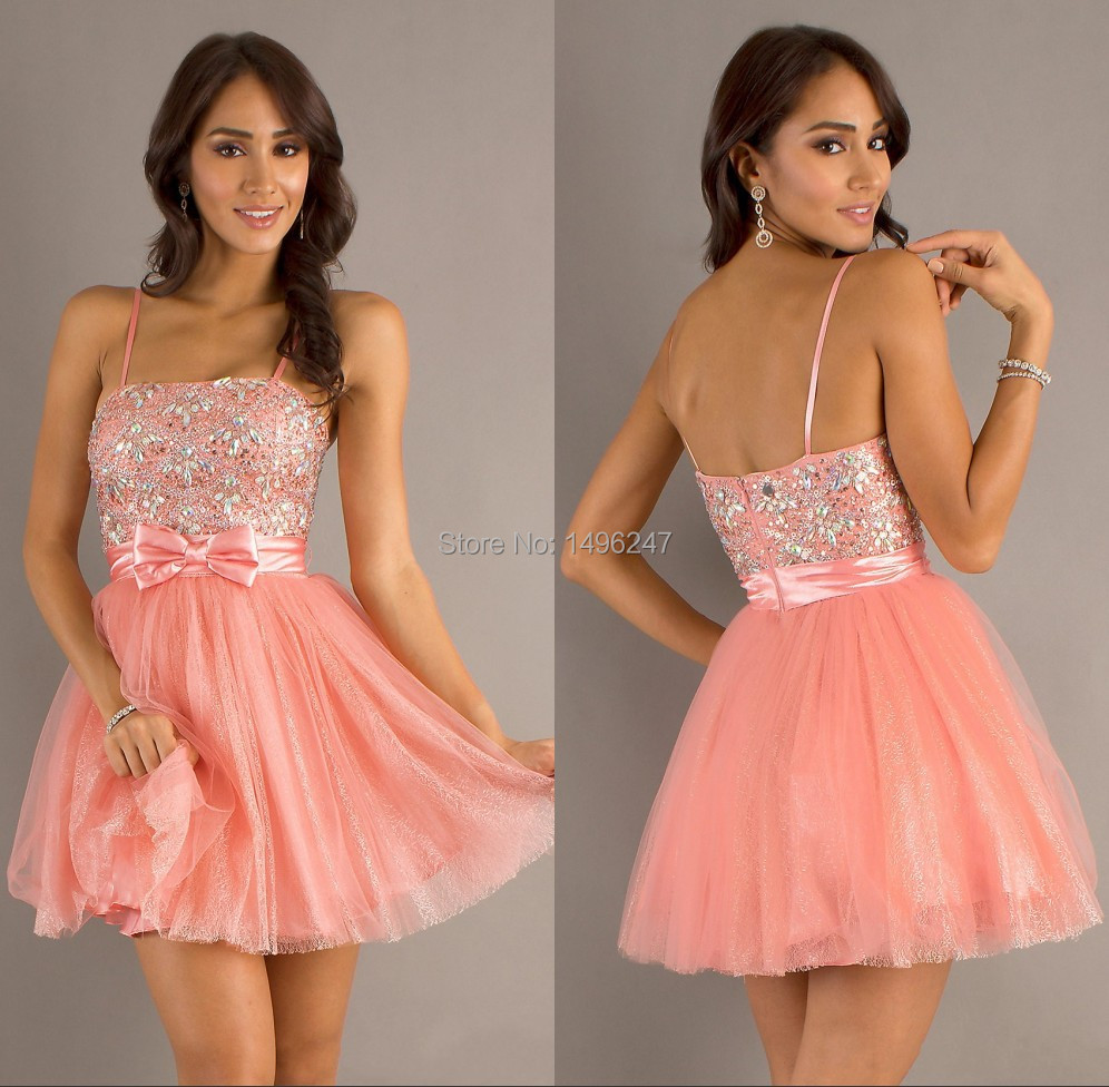 Online Get Cheap Cute Short Pink Prom Dresses -Aliexpress.com ...