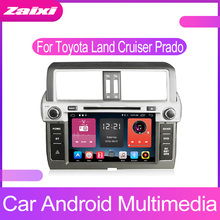 все цены на ZaiXi Android Car Multimedia Video Player GPS Car Radio Auto Radio Stereo Audio For Toyota Land Cruiser Prado 150 2014-2017 онлайн