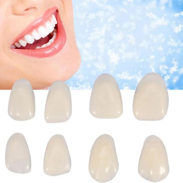 1 Pacote Materiais Ultrafinos Facetas De Resina Composta Dental Dentes Dentista Anterior Superior Restaurador De Clareamento Dos Dentes