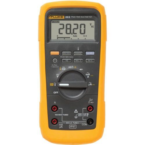 Fluke F28-II Multimeter industrial waterproof and dustproof Intrinsically Safe True RMS digital multimeter blanco eloscope f ii 516672
