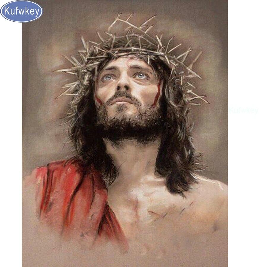 5d Diy Diamante Dipinti Gesù Cristo Nascita pittura murale Mosaico Modello del Diamante 3d Immagine Cucito Religioso decor adesivi