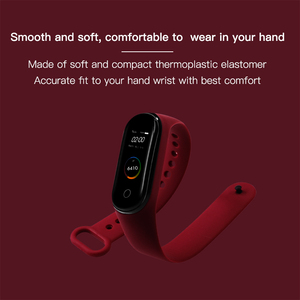 Image 3 - BOORUI for xiaomi mi band 4 strap new fashional colorful miband  5 strap silicone mi band 4 belt replacement for mi band 3 4 5
