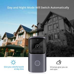 Image 3 - LeadEdge Smart WiFi vidéo sonnette caméra interphone visuel avec carillon vision nocturne IP porte cloche sans fil caméra de sécurité à domicile